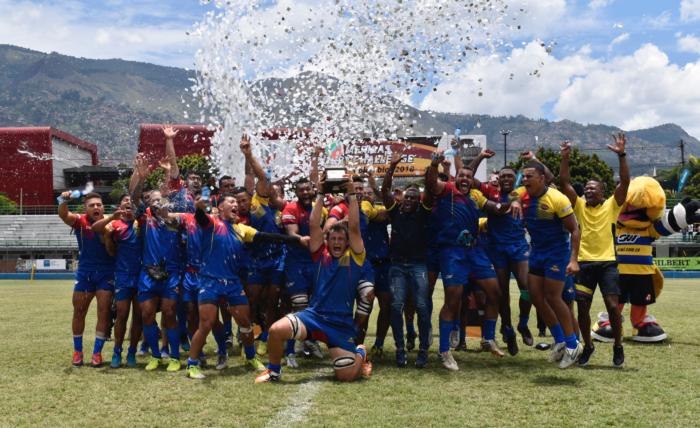 colombia campeón SAR